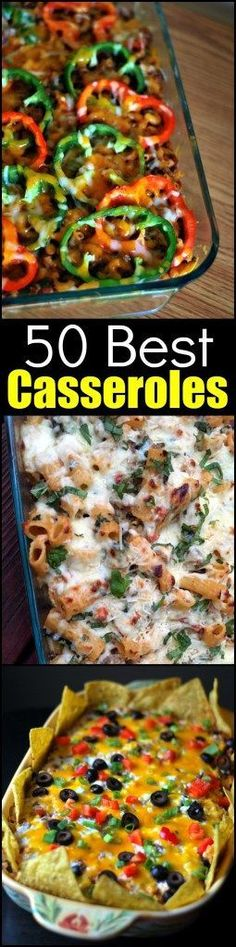 The Casserole BIBLE! Everyone needs these recipes from the 'Casserole Queen'