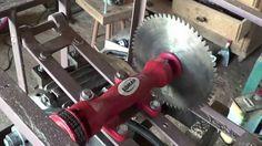 Montando uma serra circular de bancada