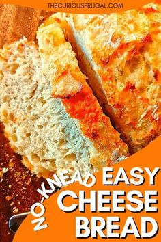 Easy Cheap Dinner Recipes, Low Carb Dinner Recipes, Cheap Meals, Healthy Bread Recipes, Best Bread Recipe, Easy Cheese, Cheese Bread, Baked Pumpkin, Pumpkin Bread
