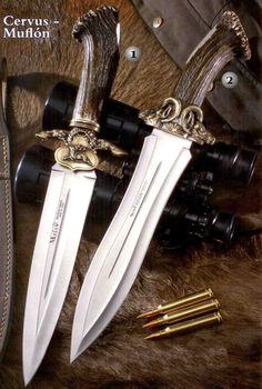 Cuchillos de lujo Muela Cervus 26-L y Muela Muflón 26- Lo encontraras en nuestra tienda: www.nuevasuiza2.com