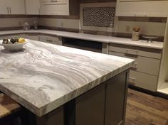 Love some of todays countertop trends with alternative finishes #countertops…