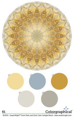 Color inspiration 61 using paint. Color schemes featured on… Gold Paint Colors, Paint Color Palettes, Grey Paint, Dunn Edwards Colors, Dunn Edwards Paint, Color Combinations, Color Schemes, Paint Samples, Exterior House Colors