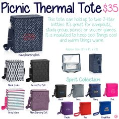 Picnic Thermal Tote by Thirty-One. Fall/Winter 2015.