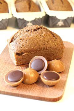 Le cake aux Toffifee, noisettes, chocolat et caramel