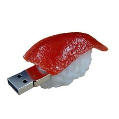 USB 2.0 model Flash Drive 4GB Tuna Sushi Disk hand made import japan #SolidAlliance
