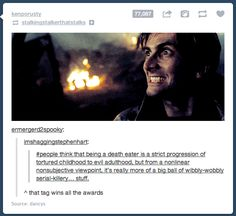 Didn't know if to pin on Doctor Who or Harry Potter... Pinned on both!>> hahah