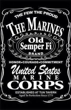 Jack Daniels Fridge Decal Sticker Bar Mancave Decor 2 Feet Wide Proportional Tal for sale online Jack Daniels, Marine Love, Once A Marine, Marine Sister, Marine Usa, Military Love, Military Humor, Military Retirement, Retirement Quotes