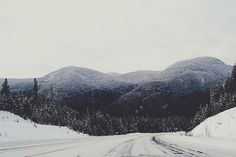 Creative Photography, Winter, Landscape, and Snow image ideas & inspiration on Designspiration Winter Road, Winter Mountain, Winter Snow, Winter Holiday, Winter White, Creative Photography, Amazing Photography, Rivers And Roads, Winter Landscape