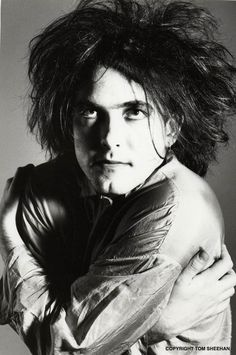 The Cure Robert Smith Young Ganteng kan