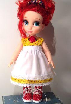 Ariel in yellow