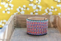 Colorful fabric stitched leather cuff...MADE TO by farmgirlpaints