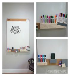 Lovely Executive Whiteboard Cabinet