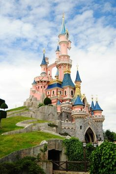 Our family has always dreamed of visiting all the Disney parks around the world and our dream trip would include a stop at Disney Paris to see this beautiful castle.