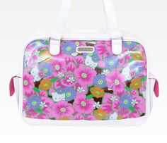Hello Kitty Vinyl Overnight Bag: Tropical...for when we go back home to Hawaii!!!