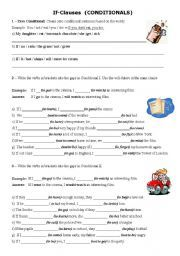 English worksheet: Conditionals