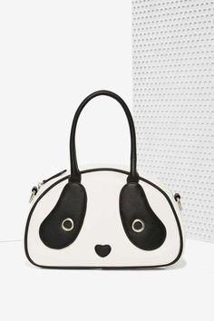 Panda Bag #purse #bag #handbag #clutch #tote