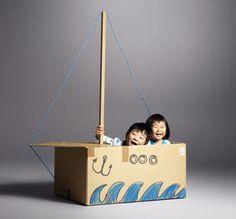 una caja para jugar... la actividad infantil mas sencilla. | DibujosdeNube