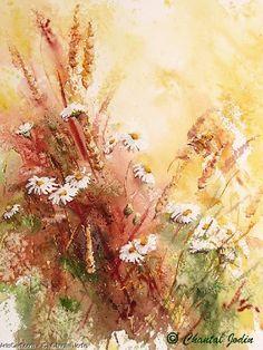 Artwork >> Chantal Jodin >> daisies savages