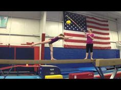Finding Vertical in Beam Handstands- half HS very good