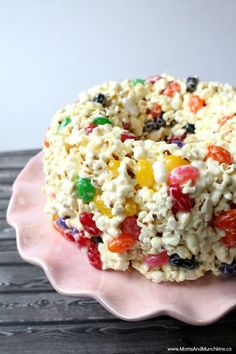 This is my grandma's popcorn cake recipe. It's a favorite around our house during the holidays. So easy to make and tastes delicious too!