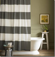 image_thumb[2] striped curtain from shower curtains