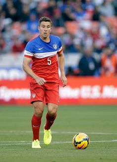 Matt Besler #5 of the United States