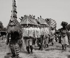 Luvale masked ritual, Zambia