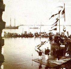 Royal Visit to Ireland - landing at Kingstown (Dun Laoghaire) #photo