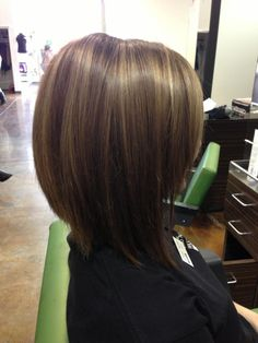 Classic bob - love the color & highlights.  I went for this look.  My stylist matched the colors perfectly. She's brilliant!