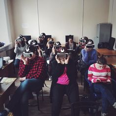 An awesome Virtual Reality pic! Cerevrum's Research Lab with @oculus #VR #Oculus #GearVR #VirtualReality #research #lab #future #techology by cerevrum check us out: http://bit.ly/1KyLetq