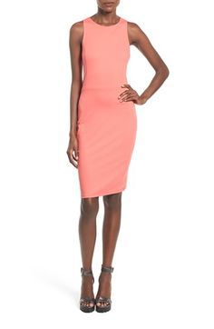 Leith Split Back Body-Con Dress available at #Nordstrom
