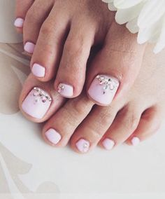 5 Pretty Pedicures Because Winter Won't Last Forever