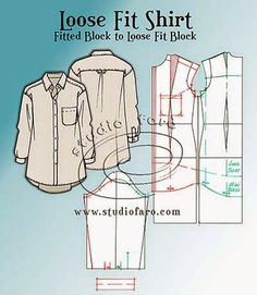 well-suited: Pattern Insights - Loose Fit Shirt
