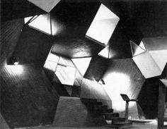 Zwi Hecker, Alfred and Naomi Neumann - Synagogue, Negev Desert, Israel, 1967-69