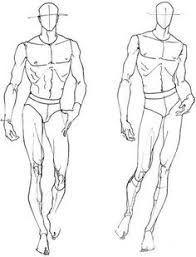 Resultado de imagem para male body fashion sketch