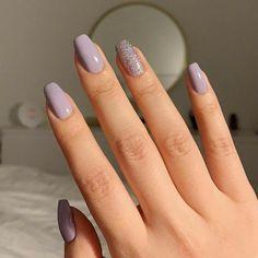 Remove Acrylic Nails, Simple Acrylic Nails, Best Acrylic Nails, Acrylic Nail Designs, Acrylic Nails Pastel, Nagellack Design, Nagellack Trends, Trim Nails, Minimalist Nails