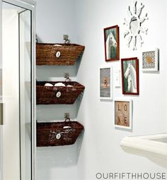 Small House Storage - Bathroom Storage Baskets