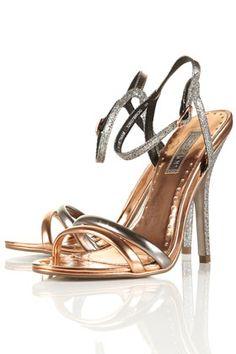 Topshop Skinny Strap Sandals