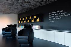 Kuntzmann le Coiffeur hair salon by Seline Soder, Laufen – Switzerland » Retail Design Blog