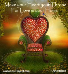 Get seated in love...
