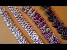Spighette all'uncinetto Crochet Cords tutorial Parte 2 Livello avanzato…