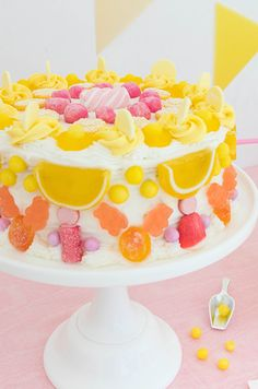 Candy Cake DIY - your cake can be anything! All you need is to choose your candy