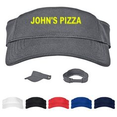 cd37c77392b28 Custom Under Armour Adjustable Visor Item  1282153 (Min Qty  3). Decorate  your Promotional Visors with your business logo and with no setup fees.