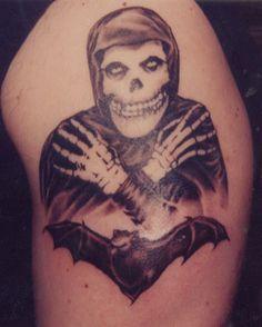 Misfits tattoo, fiend