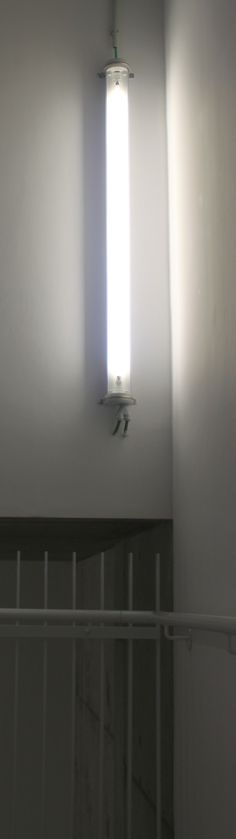 Lijn 7: verlichting in de trappenhal