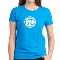 Pi Day t shirt.  Nice and simple!