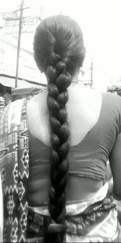 Thick long braid