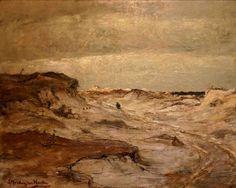 Sina Mesdag van Houten (1834-1909) Duinlandschap, 125 x 100 cm