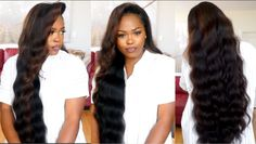 I Made A 30 Inch Wig With A Pre-customized Frontal(Watch How I made, Col...