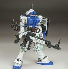 "Custom Build: HGUC 1/144 GM Sniper White Dingo Colors ""Detailed"" - Gundam Kits Collection News and Reviews"